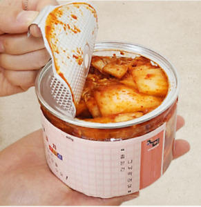 Korean canned kimchi for camping fresh handmade healthy 14oz 김치