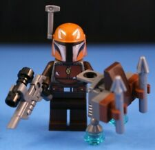 LEGO® STAR WARS™ 75267 Brown MANDALORIAN Minifigure™ +Jet Pack 100% LEGO NO CAPE