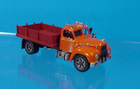 HO/HOn3 WISEMAN MODEL SERVICES CS-0003 MACK B SERIES FLATBED OR SAND TRUCK KIT