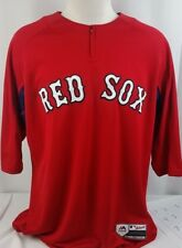 BRAND NEW Majestic  Red Sox Authentic Collection Coolbase jersey Men's Shirt