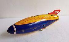 Vintage tin PARIS SFA FRANCE FI54 Space Rocket Jouet, années 1950-RARE vaisseau spatial