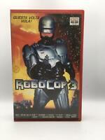 VHS film ROBOCOP 3 1998 Fred Dekker COLUMBIA VIDEOCASSETTA ITA