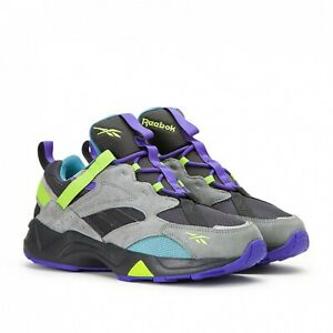Reebok Aztrek 96 Adventure EG8891 True Grey Ultima Purple Shoes  Size 12 Mens US