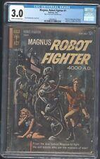 Magnus Robot Fighter 1 Gold Key 1963 Cgc 3.0 Origin & 1st app of Magnus