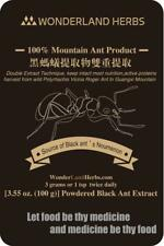 100g. BLK Mountain ANT polyrhachis vicina Double Extract Powder, More Nutrients