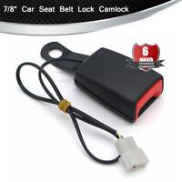 "Universal 7/8""  Car Safety Front Seat Belt Buckle Alarm Socket Plug Connector"