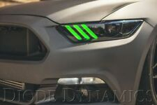 2015 2016 2017 Ford Mustang Multicolor DRL LED Board RGBWA Diode Dynamics