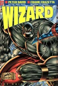 Wizard: The Guide to Comics September 1994 - #37 - w/ Ash & Kid Death Poster