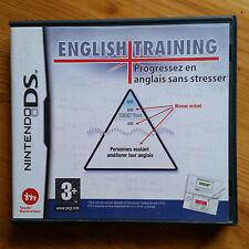 English Training DS NINTENDO / complet / envoi gratuit, protégé