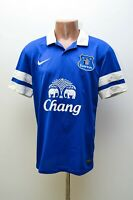 EVERTON ENGLAND 2013/2014 HOME FOOTBALL SHIRT JERSEY NIKE SIZE M ADULT