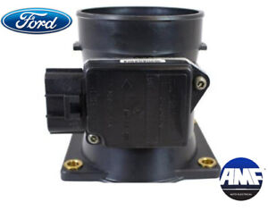 New OEM Mass Air Flow Sensor for Ford Mazda Mercury - 1L2F-12B579-BA