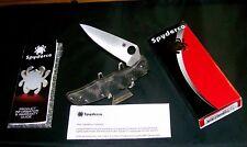 "Spyderco C10ZFPGR Knife ""Endura 4 Zome"" NEW Camouflaged Lockback 5"" W/Packaging"
