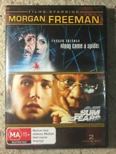 Along Came A Spider & The Sum Of All Fears - Morgan Freeman - Like New R4 DVD