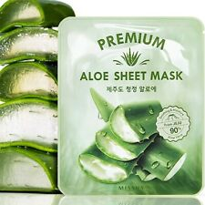 MISSHA Premium Aloe Sheet Mask Soothing & Moisture Vera Leaf Juice 91% K-Beauty