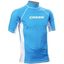 Rashguard-tee shirt anti UV-protection solaire UV (upf) 50+-CRESSI, bleu 2/4 ans