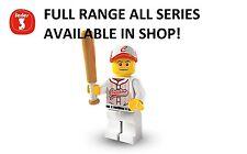 Lego minifigures joueur de baseball Série 3 (8803) factory sealed