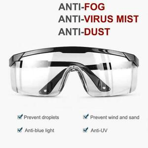 Safety Glasses Work Goggles Eyewear Protective Industrial Lab Dust Droplets