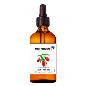Organic Goji Berry Oil, Goji Berry Seed Oil, 100% Natural Goji Oil 50 ML