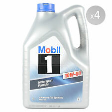 Mobil 1 10W-60 10W60 Advanced Full Synthetic Engine Oil - 4 x 5 Litres 20L