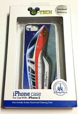 DISNEY WORLD RED MONORAIL IPHONE 5 CELL PHONE CASE LIMITED EDITION  BLUE WHITE