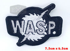 W.A.S.P Wasp Heavy Metal Embroidered Iron On Shirt Bag Badge Patch