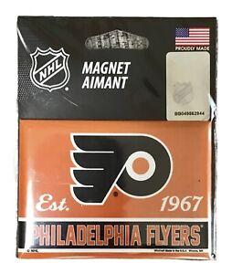 "Philadelphia Flyers NHL Ice Hockey Logo 2.5"" x 3.5"" Kitchen Home Fridge Magnet"