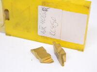 New Surplus 5PCS. Kennametal NR 4062R Grade: KC850 Carbide Inserts Tin Coated