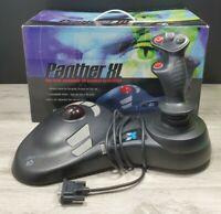 Sega Dreamcast MadCatz Panther XL Arcade Flight controller joystick trackball