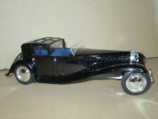 858P Solido 8001 Bugatti Royale Type 41 Napoléon 1930 Noir 1:21