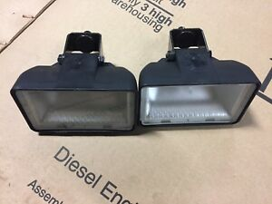 READ FIRST!! 2 New OEM Fits Case 1840 1845C headlights 347277A1 late style