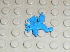 LEGO CASTLE minifig helmet plume bleue ref x47 / set 6086 6048 6105 ...