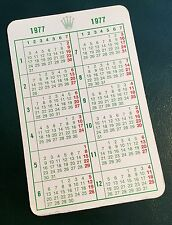 ROLEX 1977 Calendar Milgauss 1019 Daydate Day-Date 1803 Explorer 1016 Datejust