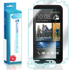2x iLLumi AquaShield HD Front Screen + Back Panel Protector for HTC Desire 601