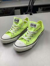 Men's Converse Neon Highlighter Shoes Size 8