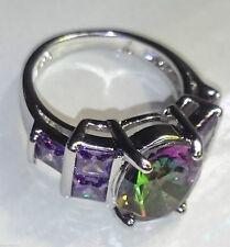 Handgefertigte Modeschmuck-Ringe aus Edelstein
