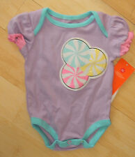 LIttle MIss Matched Lavender One Piece 0-3 Months NWT