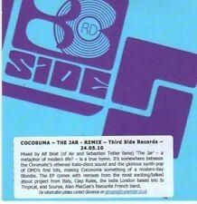 (BI294) Cocosuma, The Jar - 2010 DJ CD