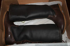 FRYE CELIA SHERLING BACK LACE DARK BROWN  ANTIQUE SOFT FULL GRAIN #7us $348