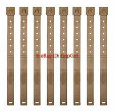 8x Lot Tactical Tailor - Long Coyote MALICE Clips 8 Pack - USMC Marine FDE NEW