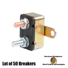 Lot of 50 12V 30A DC Auto Reset Wind Turbine Generator Circuit Breaker Type 1