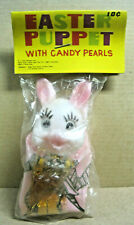 Vintage Easter Bunny Puppet S.L. Kaye Company Nos