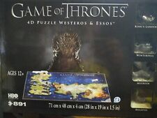 4D Game of Thrones Westeros  and Essos Puzzle