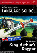 *- Young DETECTIVES' Language SCHOOL - Der ARTUSDOLCH/King ARTHUR's DAGGER tb