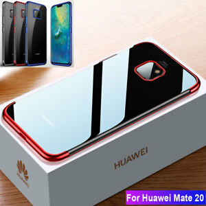 For Huawei Mate 20 Pro/Mate 20X Honor 8X Max Slim Shockproof Silicone Case Cover