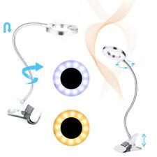 LED Tattoo Schönheit Lampe USB Klemm-Lampe Leselampe Tischlampe einstellbar Weiß