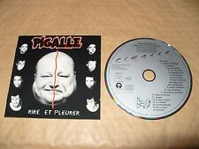 Pigalle Rire Et Pleurer cd 1993  Excellent Condition