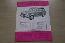 178789) Ford Escort Kombi - Belgien - Prospekt 1958
