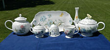 "75-PCS (OR LESS) OF LENOX CHINA IN THEIR BEAUTIFUL ""BUTTERFLY MEADOW"" PATTERN"