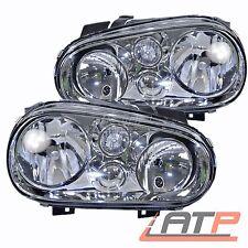 2X HEADLAMP HEADLIGHT H7/H1 LEFT+RIGHT VW GOLF MK 4 1J +CONVERTIBLE 1E 1.4-2.8