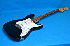 G.W. Lyon by Washburn Solid Body Right Handed Electric Guitar Black & White